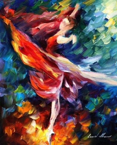 Leonid Afremov, Flame Dancer