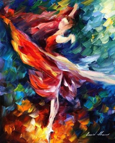 Leonid Afremov, Flame Dancer