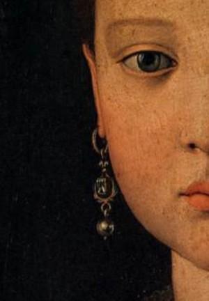 Portrait of Maria de' Medici by Agnelo Bronzino 1551