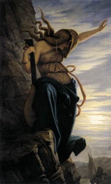 Eduard Jakob von Steinle, Lorelei, 1864