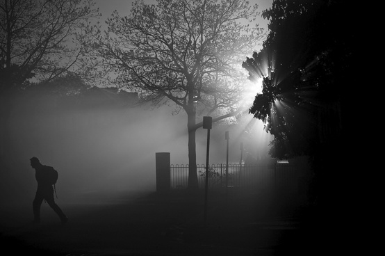 Crispin Gardner, Foggy Walk