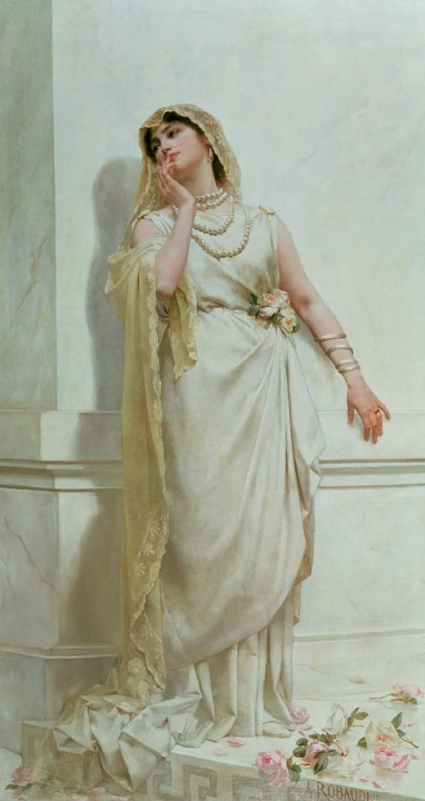 Alcide Theophile Robaudi, The Young Bride