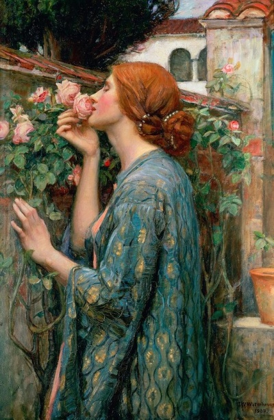 John William Waterhouse,  The Soul of the Rose, 1908