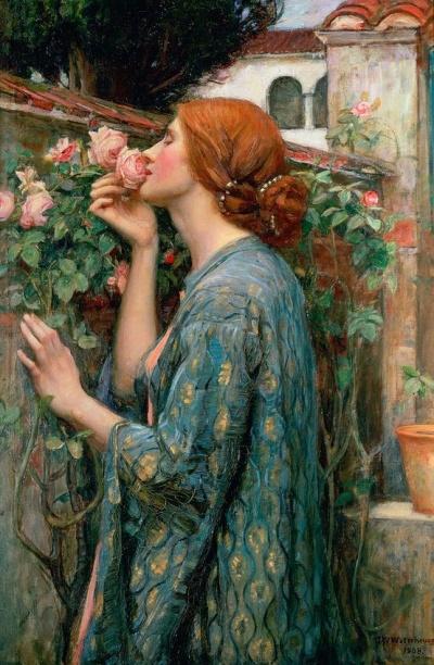 John William Waterhouse,  The Soul of the Rose, 1908