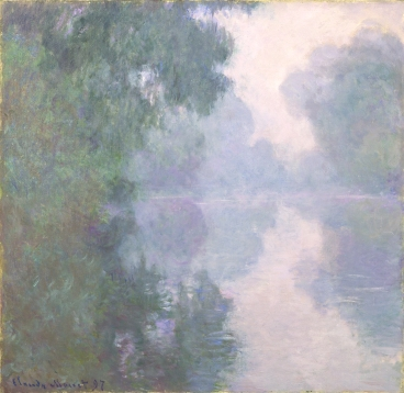 Claude Monet, The Seine at Giverny, Morning Mists