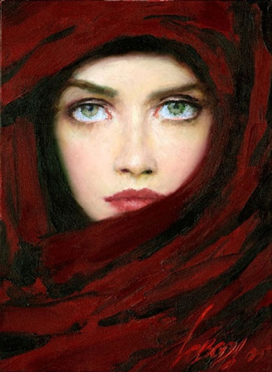 Taras Loboda, Lady in Red