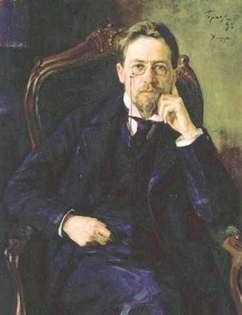 iosif-braz-a-portrait-of-the-writer-anton-chekhov-1898-e1268037700124